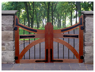 Metal and Timber gates