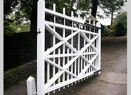 The new gate after installation