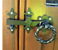 Decorative Ring latch set